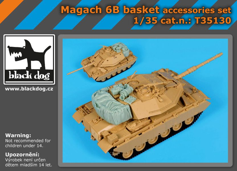 T35130 1/35 Magach 6B Blackdog