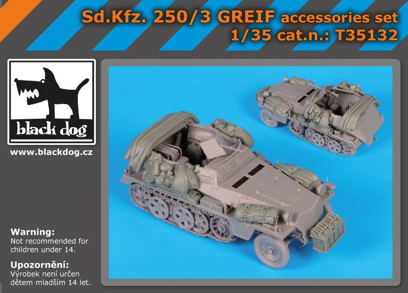 T35132 1/35 Sd.Kfz 250/3 Greif Blackdog