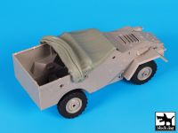 T35134 1/35 BTR 40 rolled canvas Blackdog