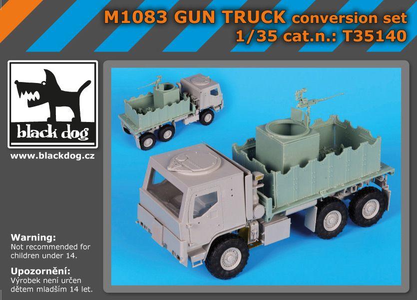 T35140 1/35 M1083 GUN TRUCK conversion set Blackdog