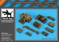 T35141 1/35 Tentage+bedrols N