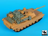 T35154 1/35 M1A1 accessoriesset Blackdog