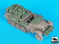 T35155 1/35 Sd.Kfz 10 accessories set Blackdog
