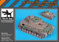 T35159 1/35 Pz.Kpfw. III accessories set