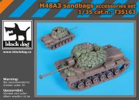 T35163 1/35 M48A3 accessories set Blackdog