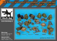 T35164 1/35 US Army(Vietnam)equipment accessories set
