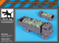 T35166 1/35 Bedford QLT troop carrier accessories set Blackdog