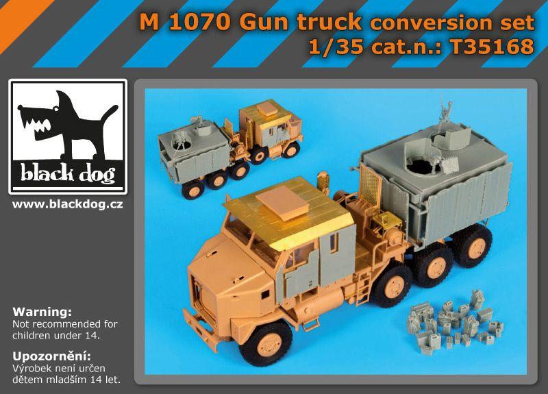 T35168 1/35 M1070 Gun truck conversion set Blackdog