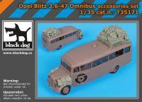 T35171 1/35 Opel Blitz 3.6-47 Omnibus accessories set