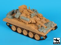 T35172 1/35 M 551 Sheridan Gulf War accessories set Blackdog