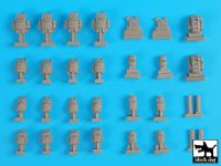 T35173 1/35 French equmment accessories set Blackdog