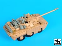 T35174 1/35 AMX 10RCR Separ accessories set Blackdog