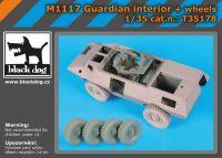 T35178 1/35 M 1117 Guardian interier plus wheels Blackdog