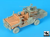 T35180 1/35 Land Rover Austrelian special forces accessories set Blackdog
