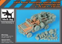 T35181 1/35 Land Rover Australian special forces big accessories set Blackdog
