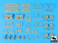 T35182 1/35 Unimog Belgian special forces accessories set Blackdog