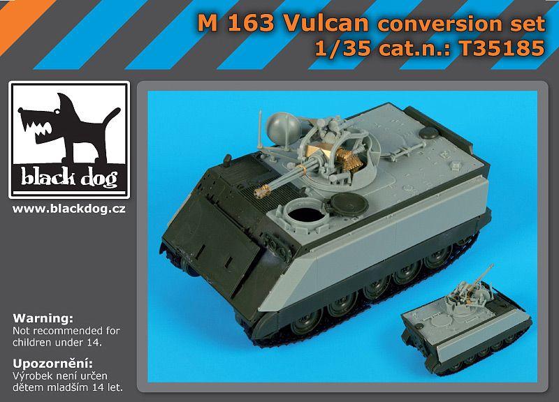 T35185 1/35 M 163 Vulcan conversion set Blackdog