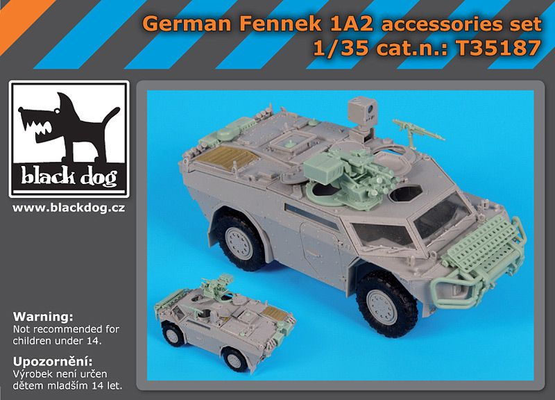 T35187 1/35 German Fennek 1A2 accessories set Blackdog