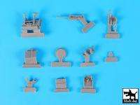 T35188 1/35 FLW 200 accessories set Blackdog