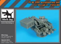 T35188 1/35 FLW 200 accessories set Blackdog