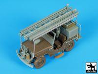 T35190 1/35 Jeep Willys CJ2A Fire truck conversion set Blackdog