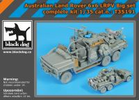 T35191 1/35 Australian Land Rover 6x6 big set complete kit