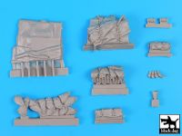 T35193 1/35 Sturmgeschutz III Ausf.D accessories set Blackdog