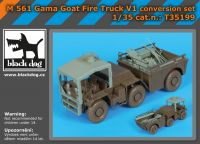 T35199 1/35 M561 Gama Goat fire truck V1 conversion set