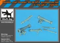 T35201 1/35 Javelin,Carl Gustav,M136 AT4 accessories set