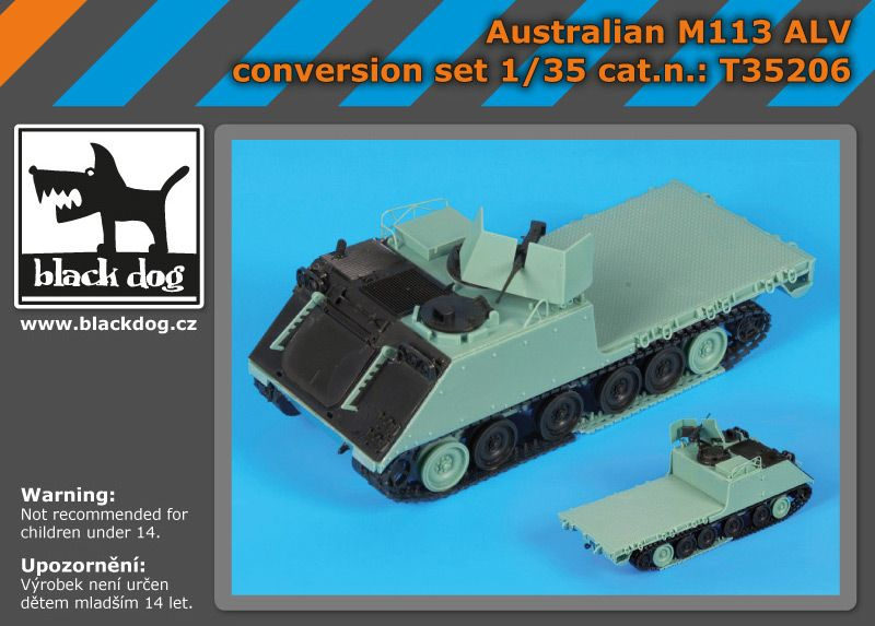 T35206 1/35 Australian M 113 ALV conversion kit Blackdog