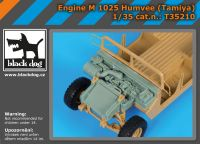 T35210 1/35 Engine M 1025 Humvee (Tamiya)