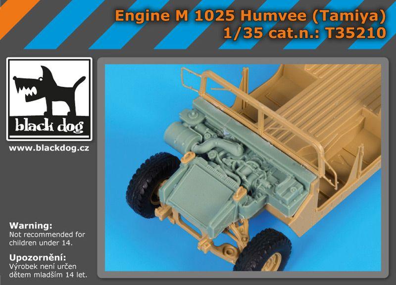 T35210 1/35 Engine M 1025 Humvee (Tamiya) Blackdog