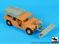 T35215 1/35 Humvee Snow truck conversion set Blackdog