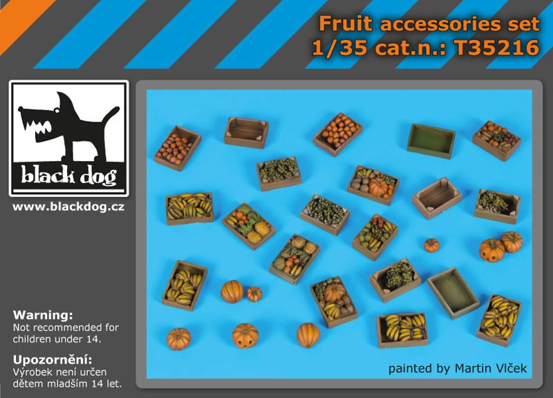 T35216 1/35 Fruit accessories set Blackdog