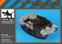 T35217 1/35 Bren Carrier accessories set Blackdog