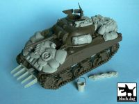 T48003 1/48 US Sherman accessories set
