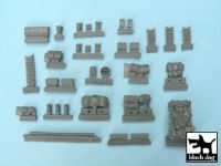 T48004 1/48 Firefly accessories set Blackdog