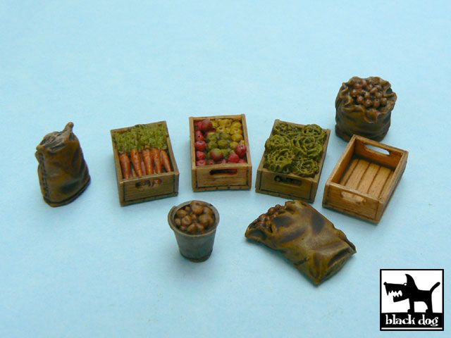 T48010 1/48 Food supplies #1 accessories set Blackdog