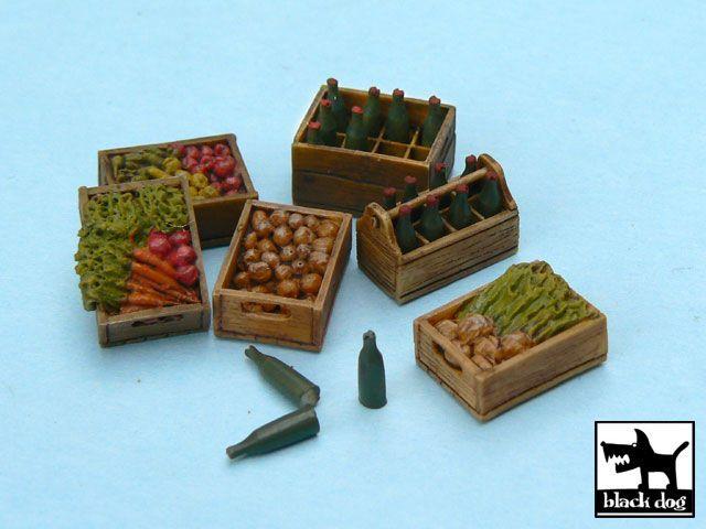 T48011 1/48 Food supplies #2 accessories set Blackdog