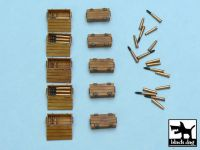 T48013 1/48 Pz.Kpfw IV ammo boxes Blackdog