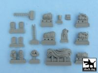 T48022 1/48 Sd.Kfz.250 accessories set Blackdog
