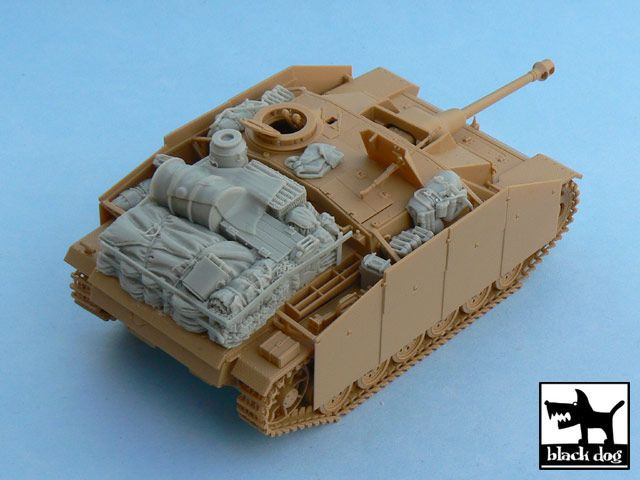 T48023 1/48 Sturmgeschütz III Ausf.G accessories set Blackdog