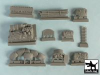 T48024 1/48 Pz.Kpfw.III Ausf L accessories set Blackdog