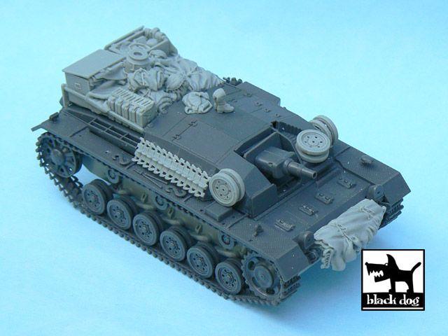 T48030 1/48 Sturmgeschütz III Ausf.B accessories set Blackdog
