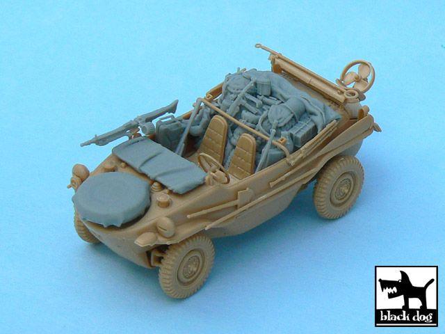 T48031 1/48 Schwimmwagen accessories set Blackdog