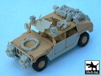 T48034 1/48 HUMVEE Iraq war accessories set Blackdog
