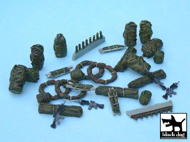 T48036 1/48 US modern equipment 2 accessories set Blackdog