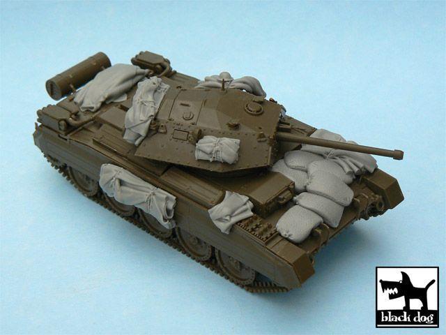 T48040 1/48 Crusader Mk.III accessories set Blackdog