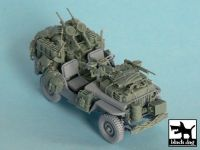 T48043 1/48 British SAS Jeep north Africa 1942 Blackdog