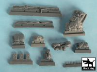 T48044 1/48 M26 Pershing accessories set Blackdog